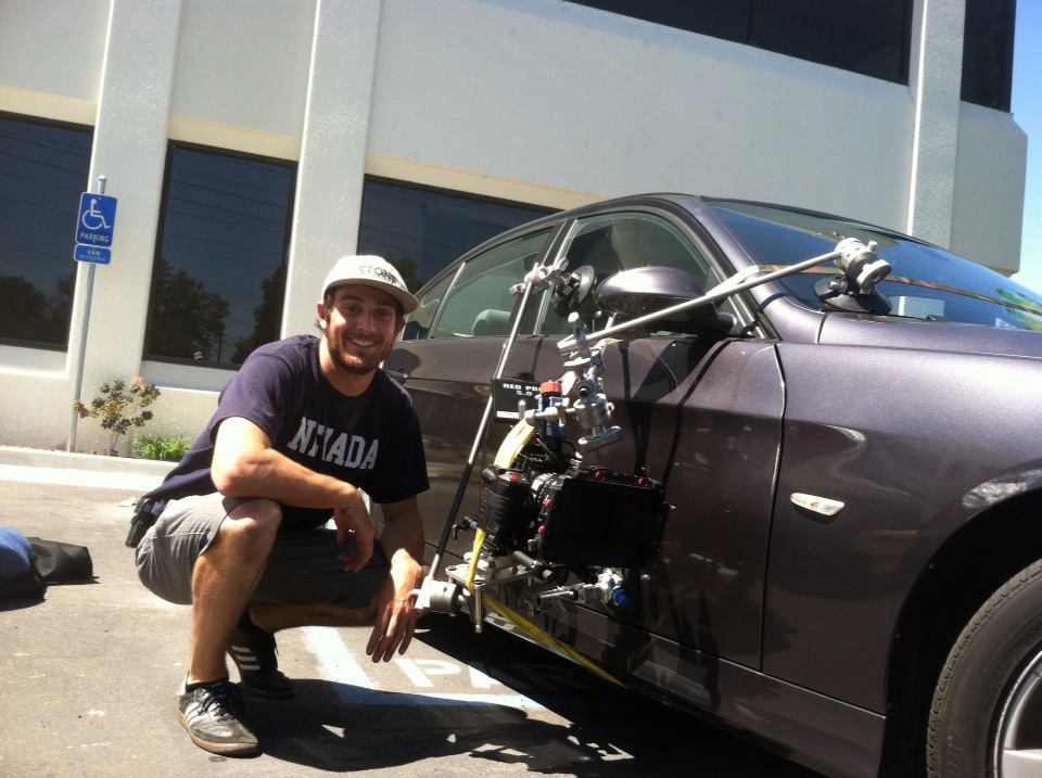 RED Epic car rig