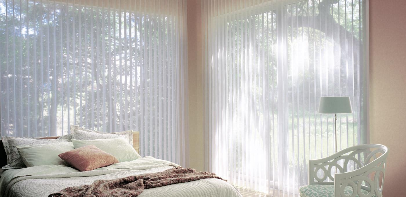 Luxaflex Luminette Bedroom