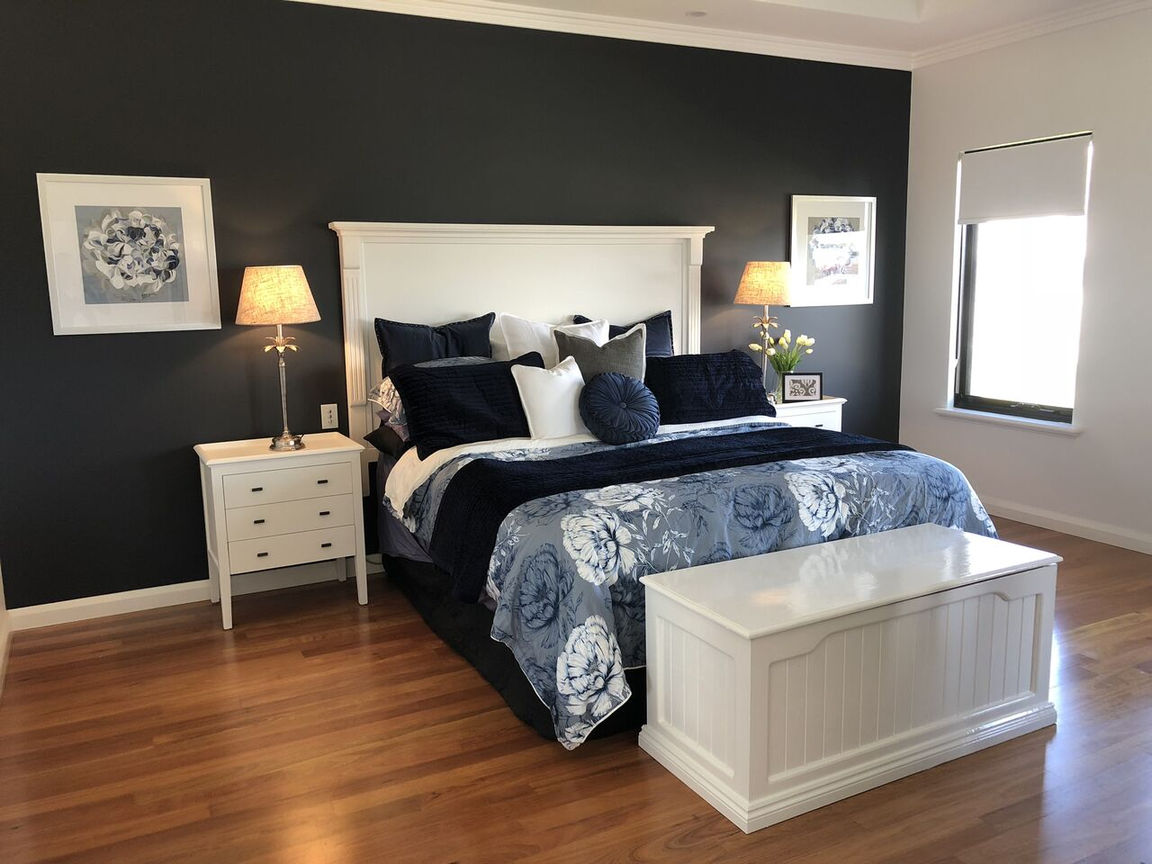 After: The Master Bedroom