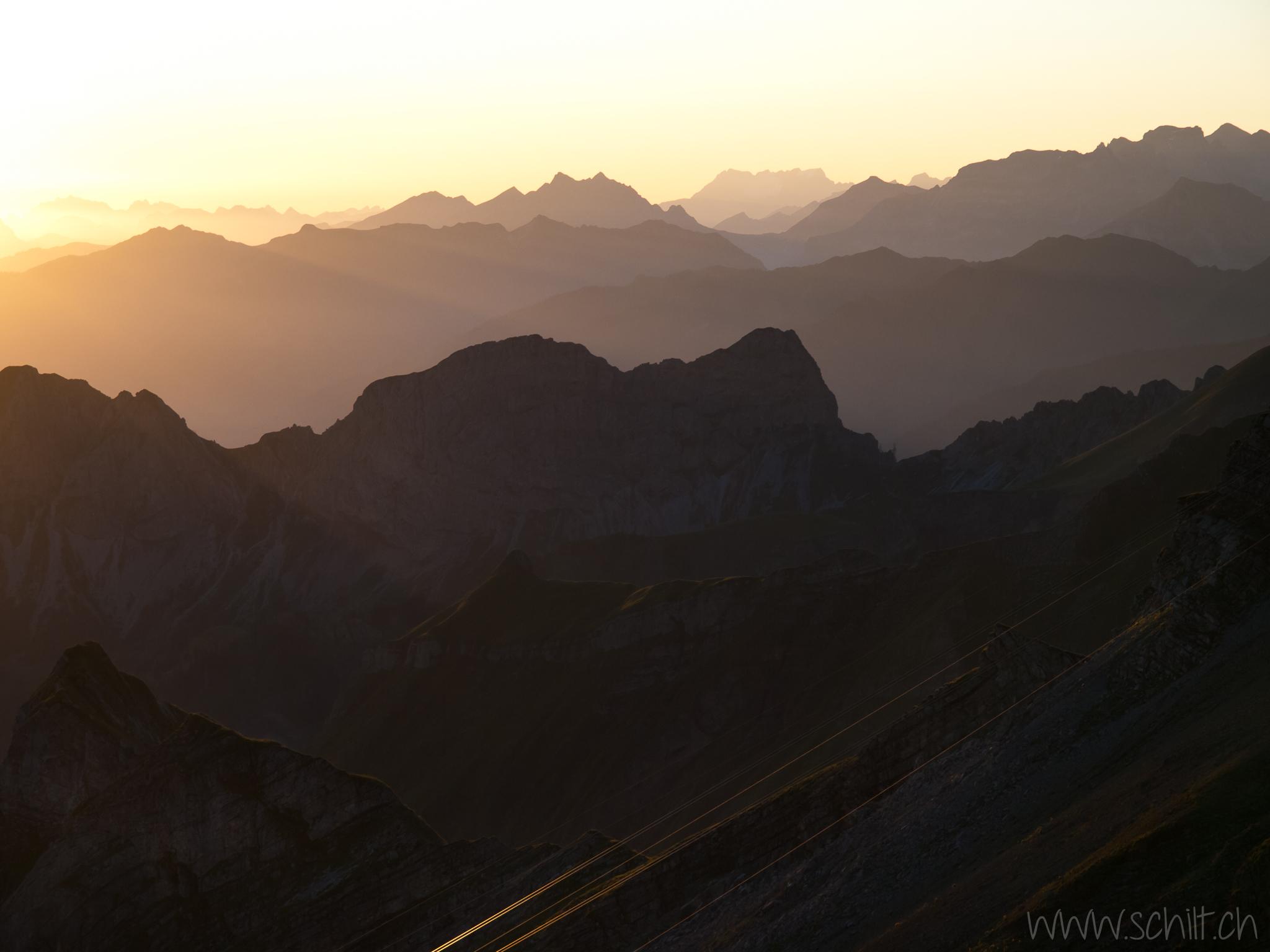 Sonnenaufgang, Innerschweiz