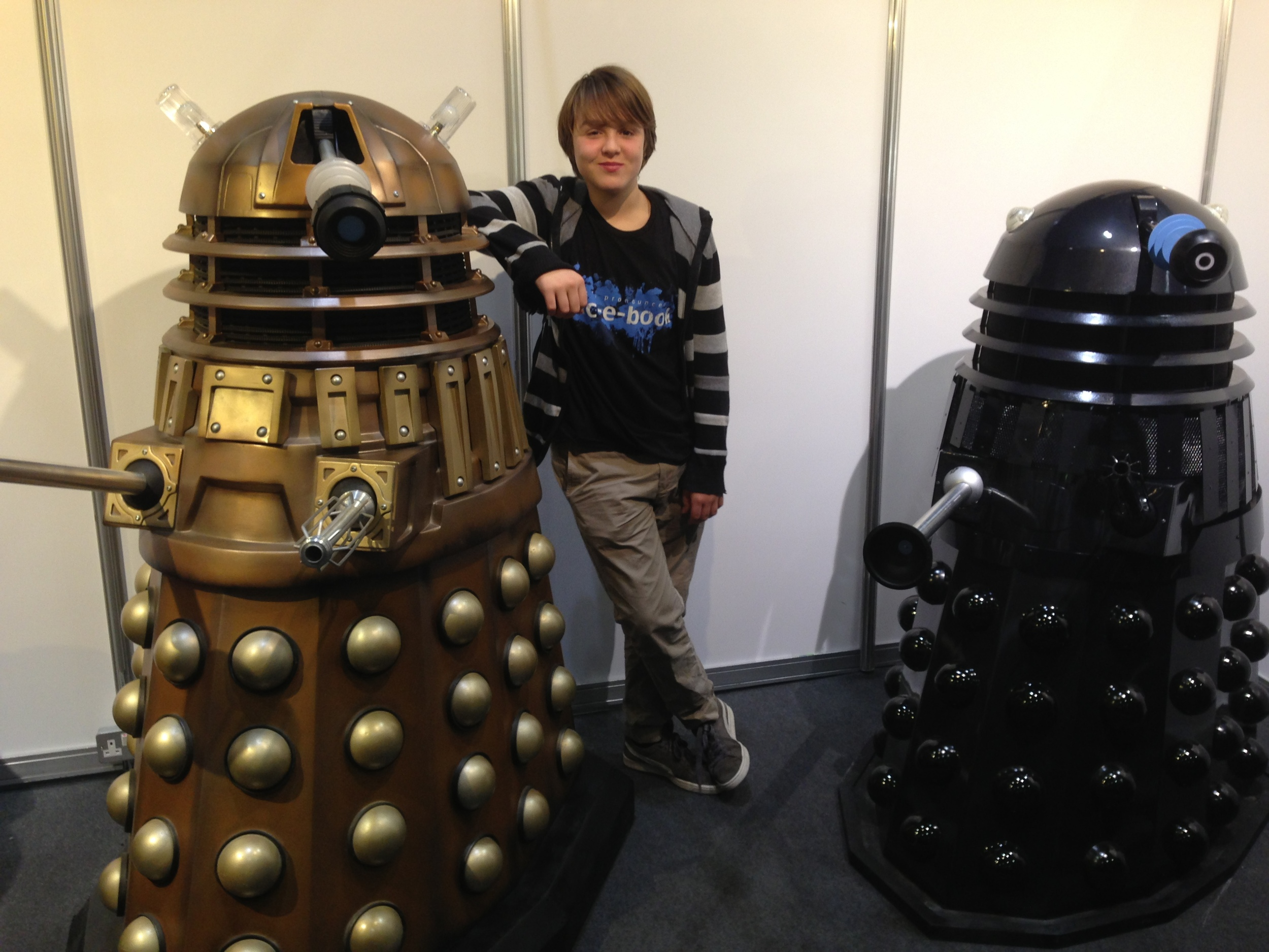I make Ben stand by my favourite Darlek!