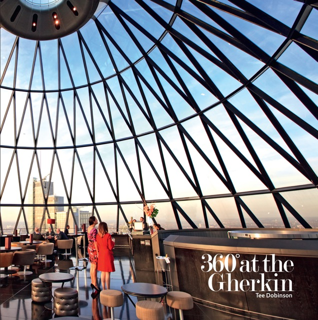 The cover of the first edition of '360˚ at the Gherkin' - all sold out now.