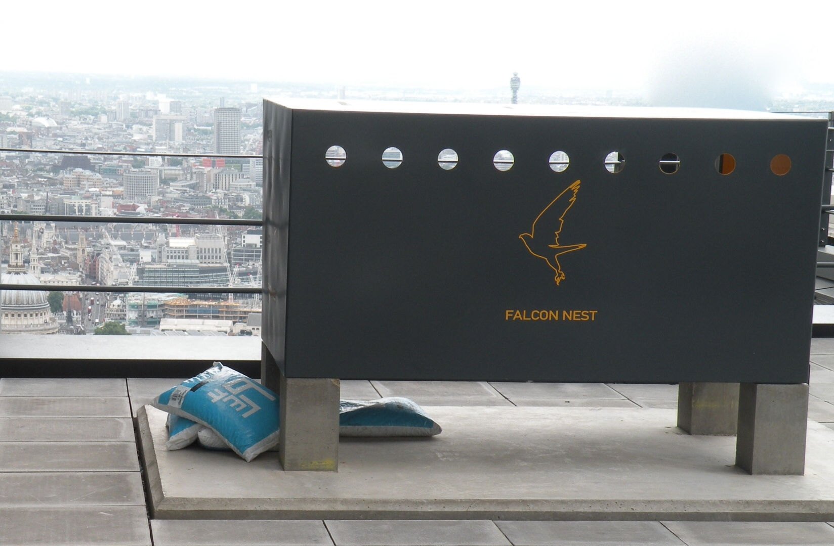 The Leadenhall Building's Falcon Nest