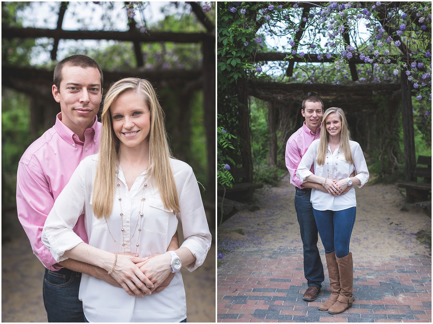 Coker Arboretum UNC Campus Chapel Hill North Carolina Engagement Photographer-0012.jpg