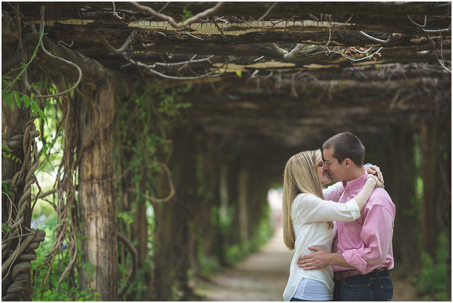 Coker Arboretum UNC Campus Chapel Hill North Carolina Engagement Photographer-0017.jpg
