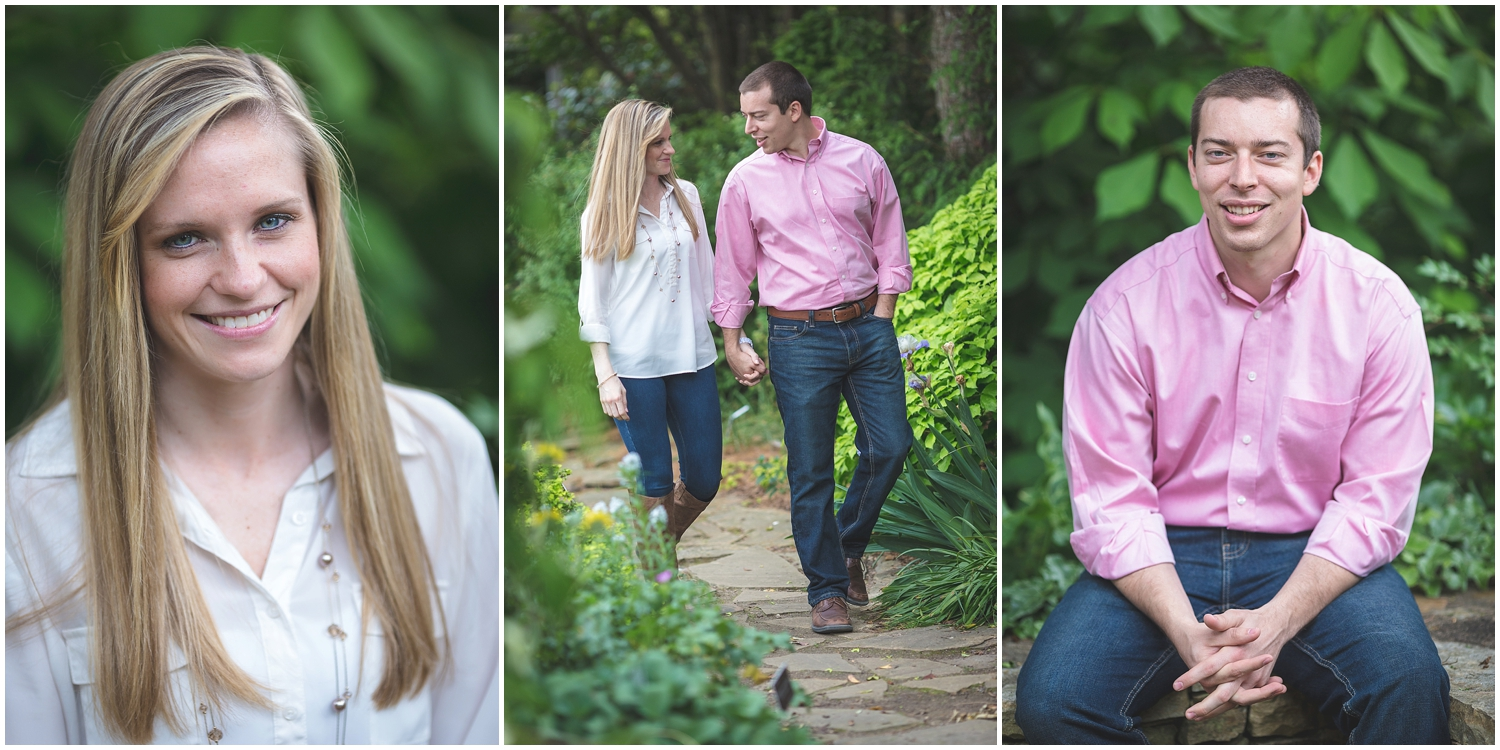 Coker Arboretum UNC Campus Chapel Hill North Carolina Engagement Photographer-0021.jpg