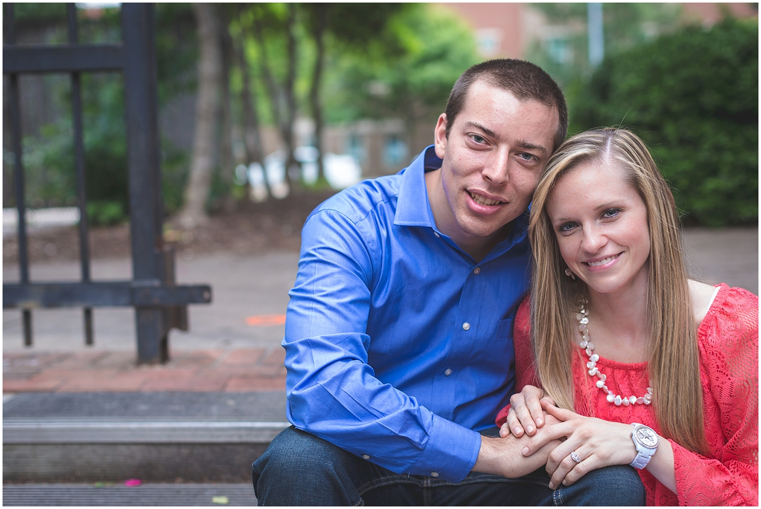 Coker Arboretum UNC Campus Chapel Hill North Carolina Engagement Photographer-0039.jpg
