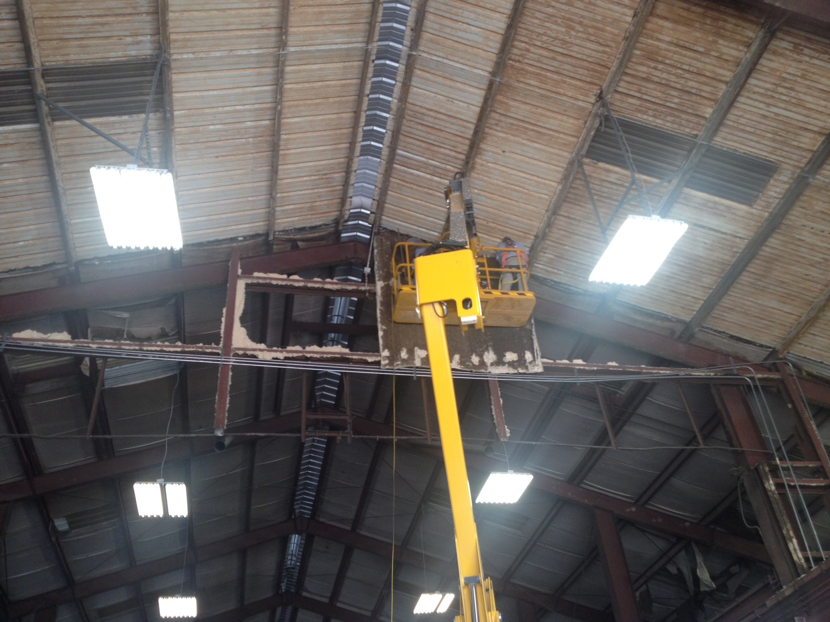 Metal roof preparation