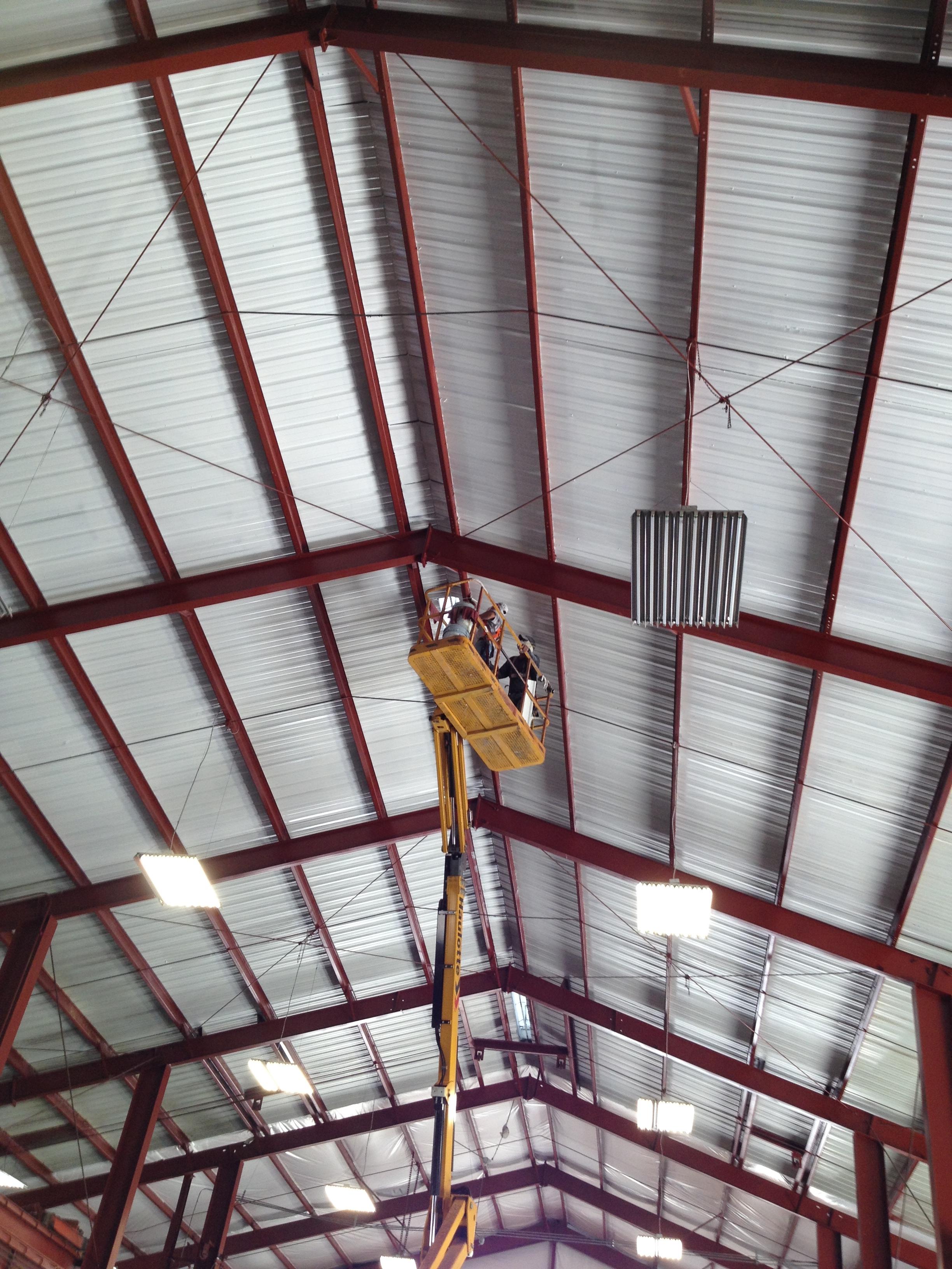 Industrial roof panting