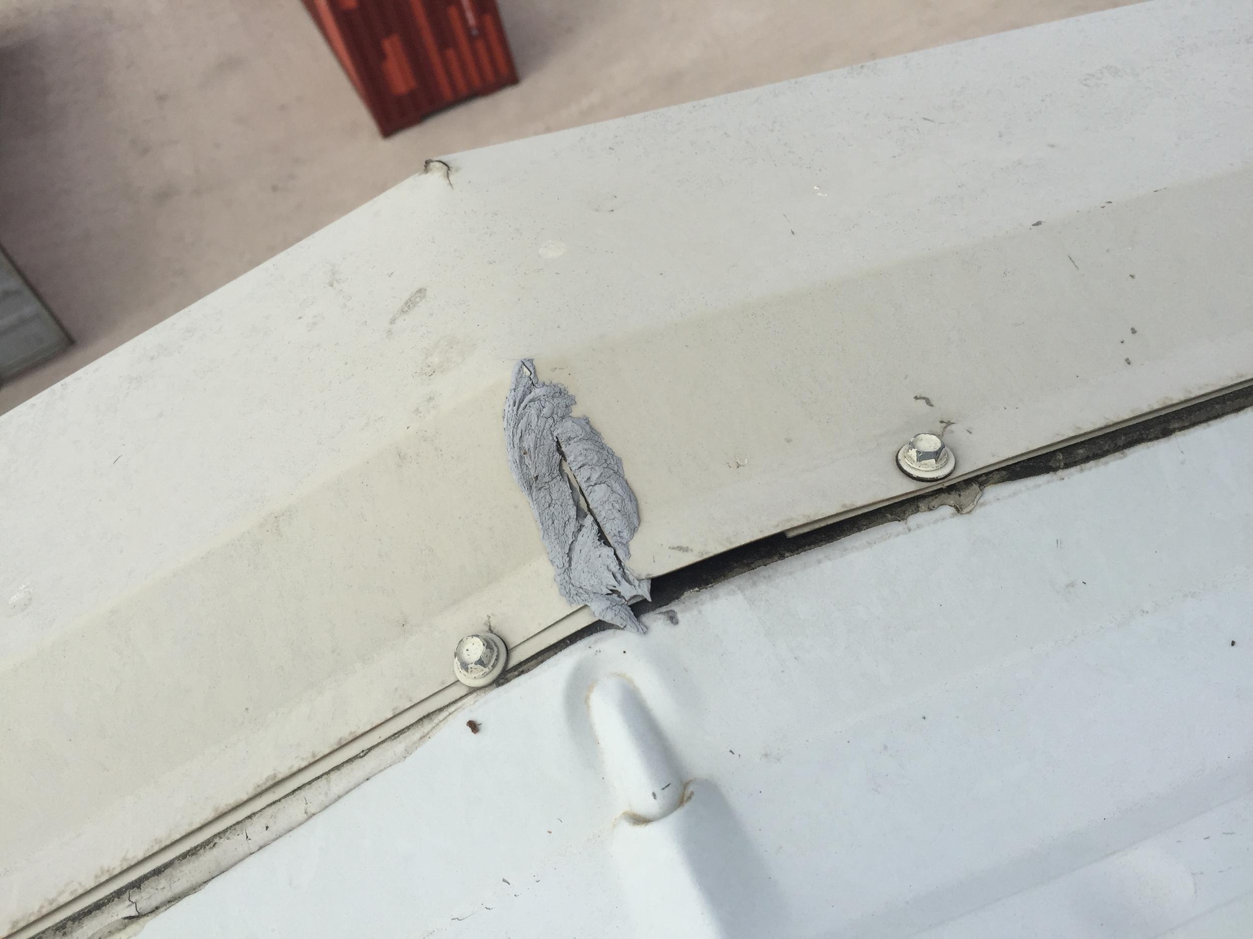 Rake trim need repair