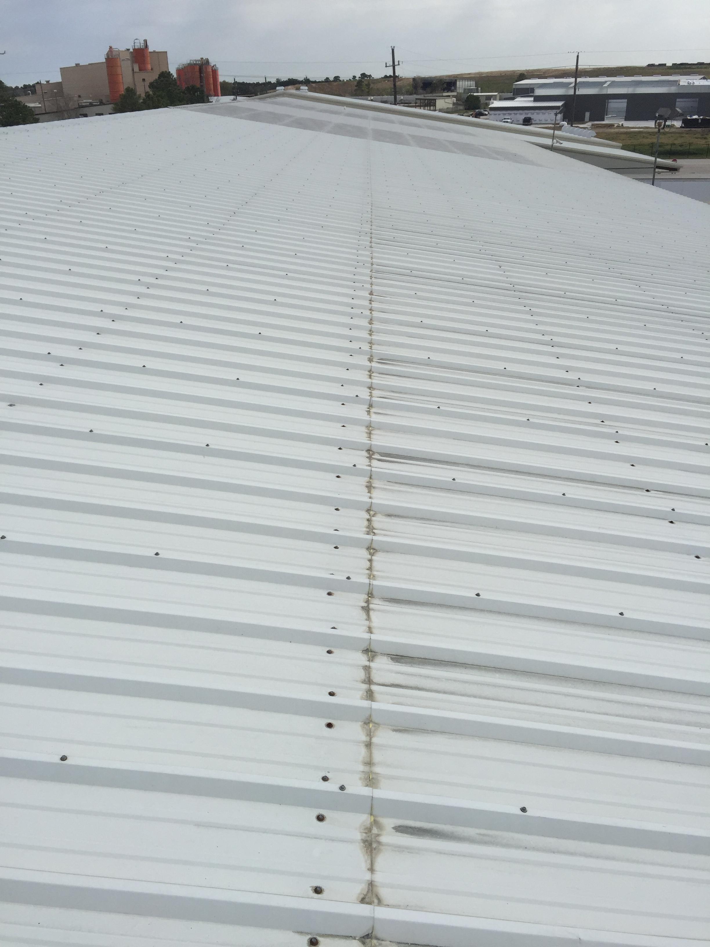 Full roof inspection