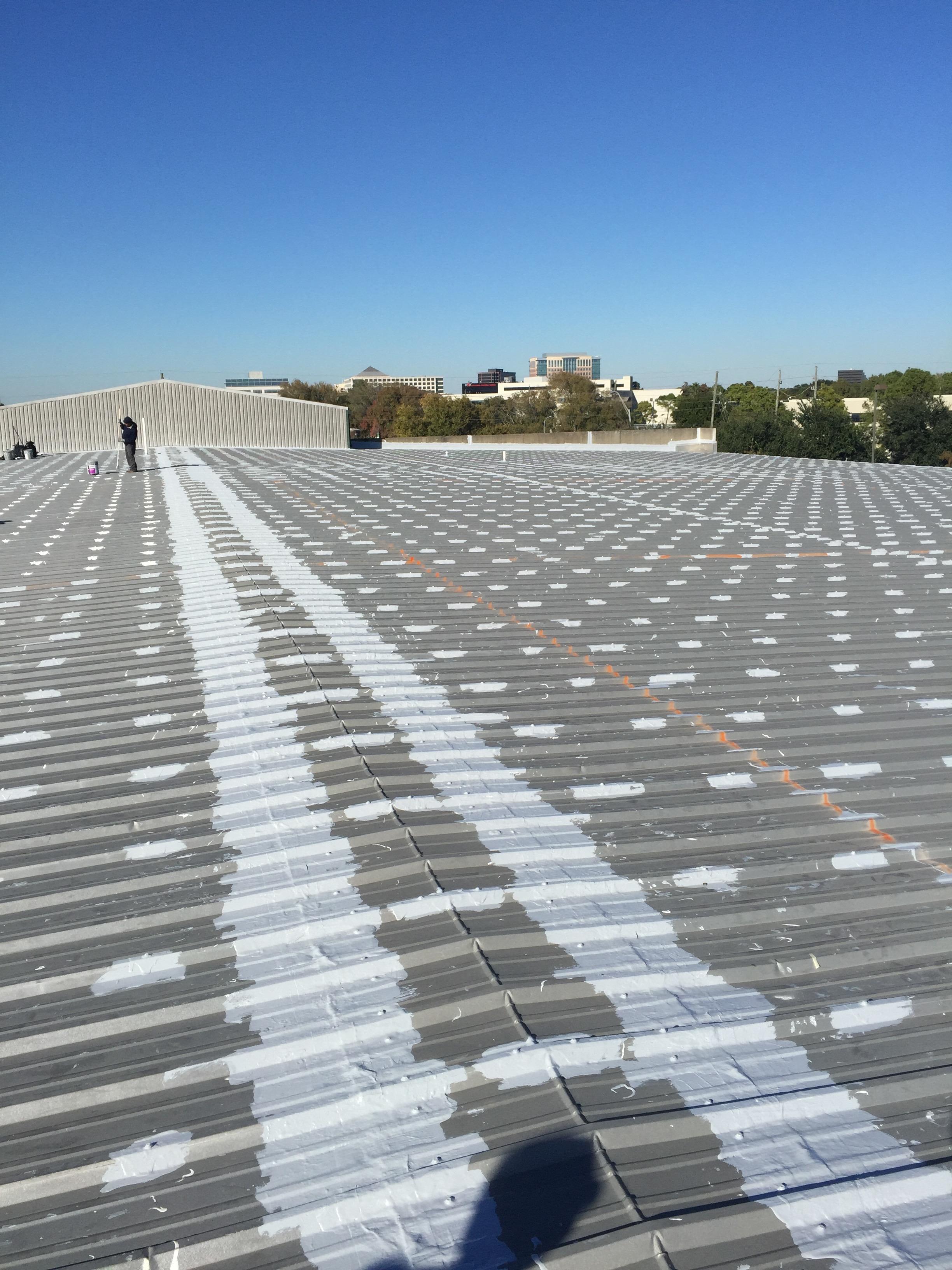 Roof sealing and repair