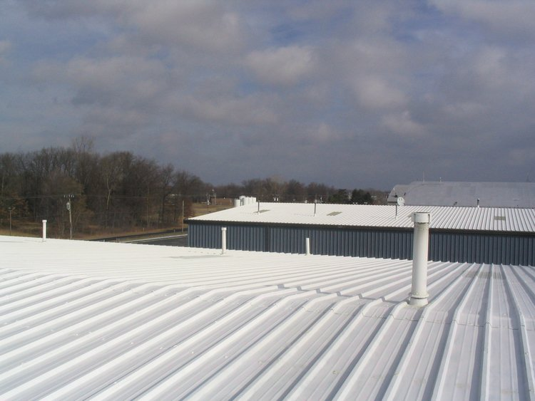 Metal roof coating - elastomeric