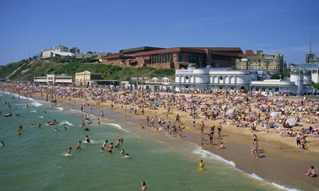 bournemouth in dorset- beautiful but with hard water