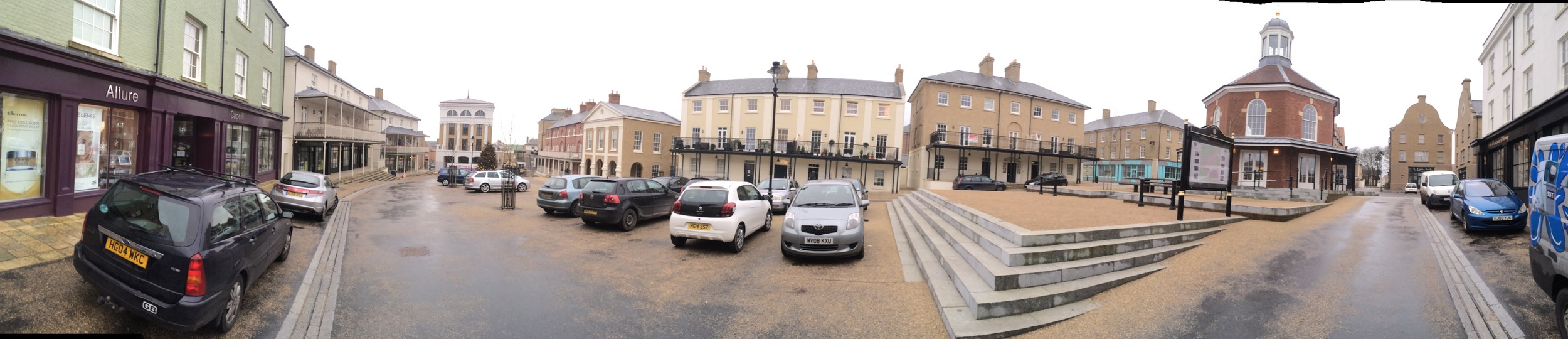 Poundbury near dorchester