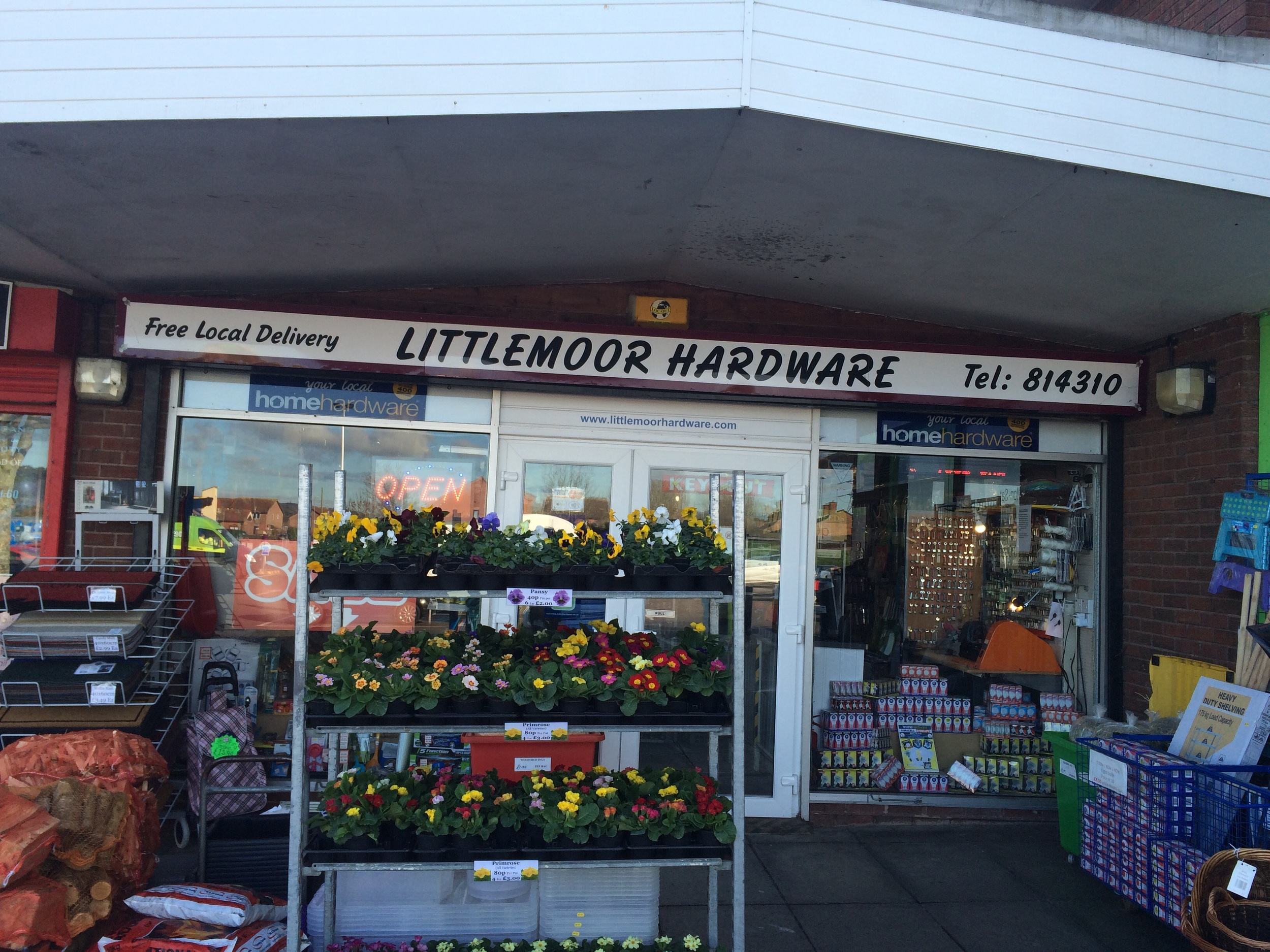 Littlemoor hardware.