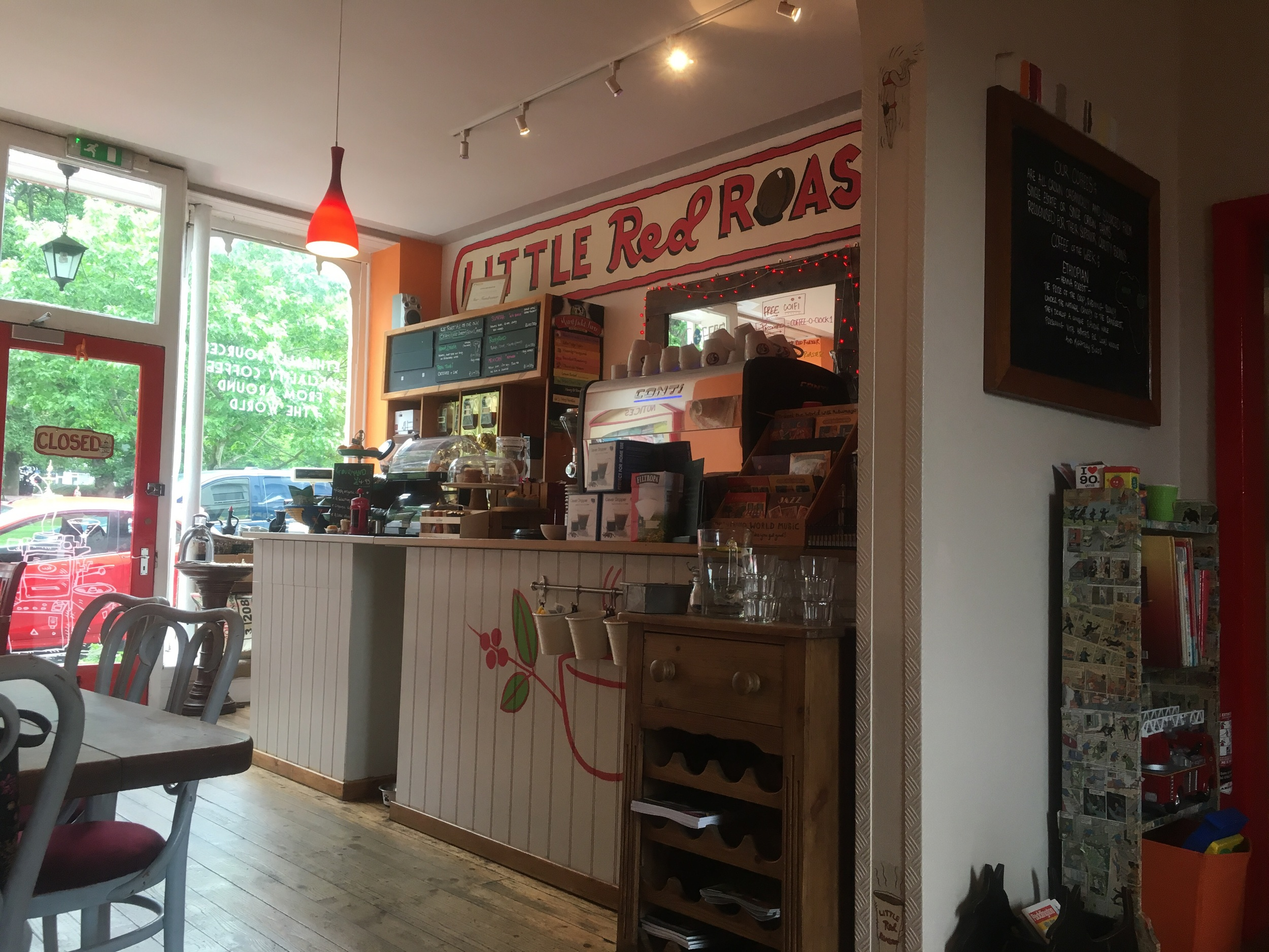 Little Red Roaster- Parkstone