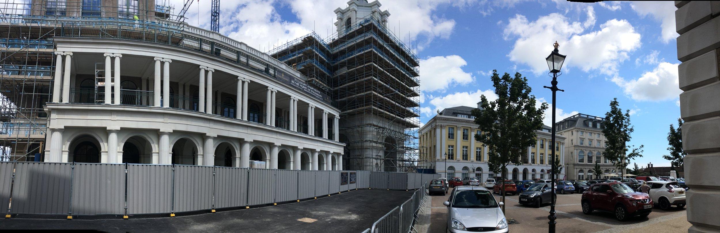 Poundbury- queen mother square.