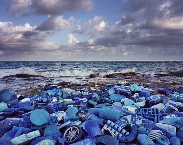 plastic bottles littering every ocean