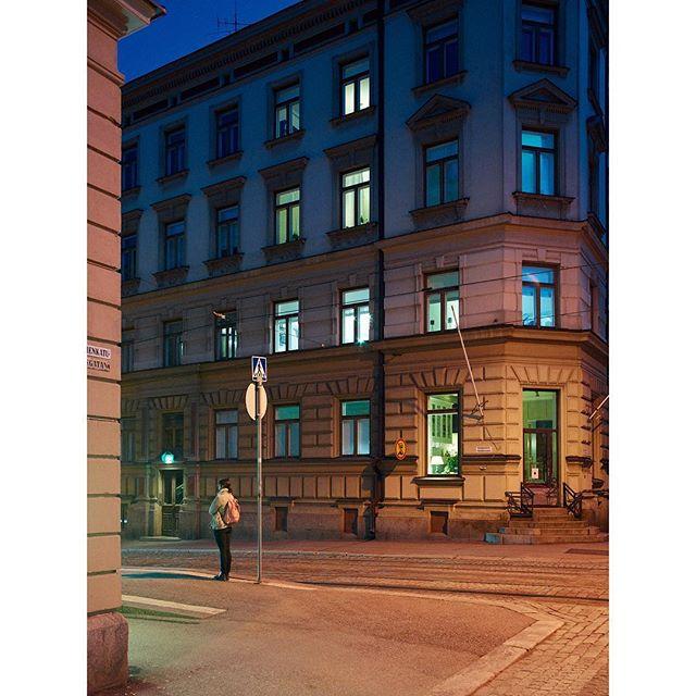 "#Fredrikinkatu, 2019 - from the series ""#Helsinki in the #Twilight"""