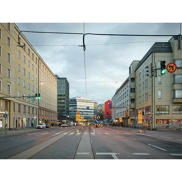 "#Hämeentie, 2019 - from the series ""#Helsinki in the #Twilight"""