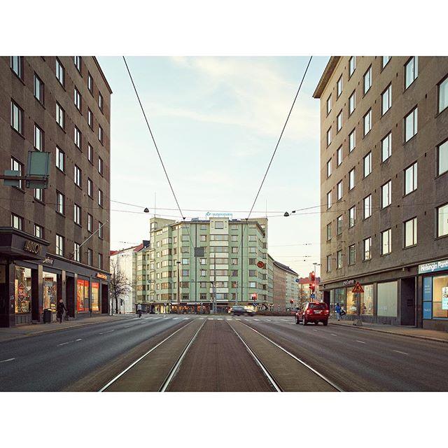 "#Runeberginkatu II, 2019 - from the series ""#Helsinki in the #Twilight"""