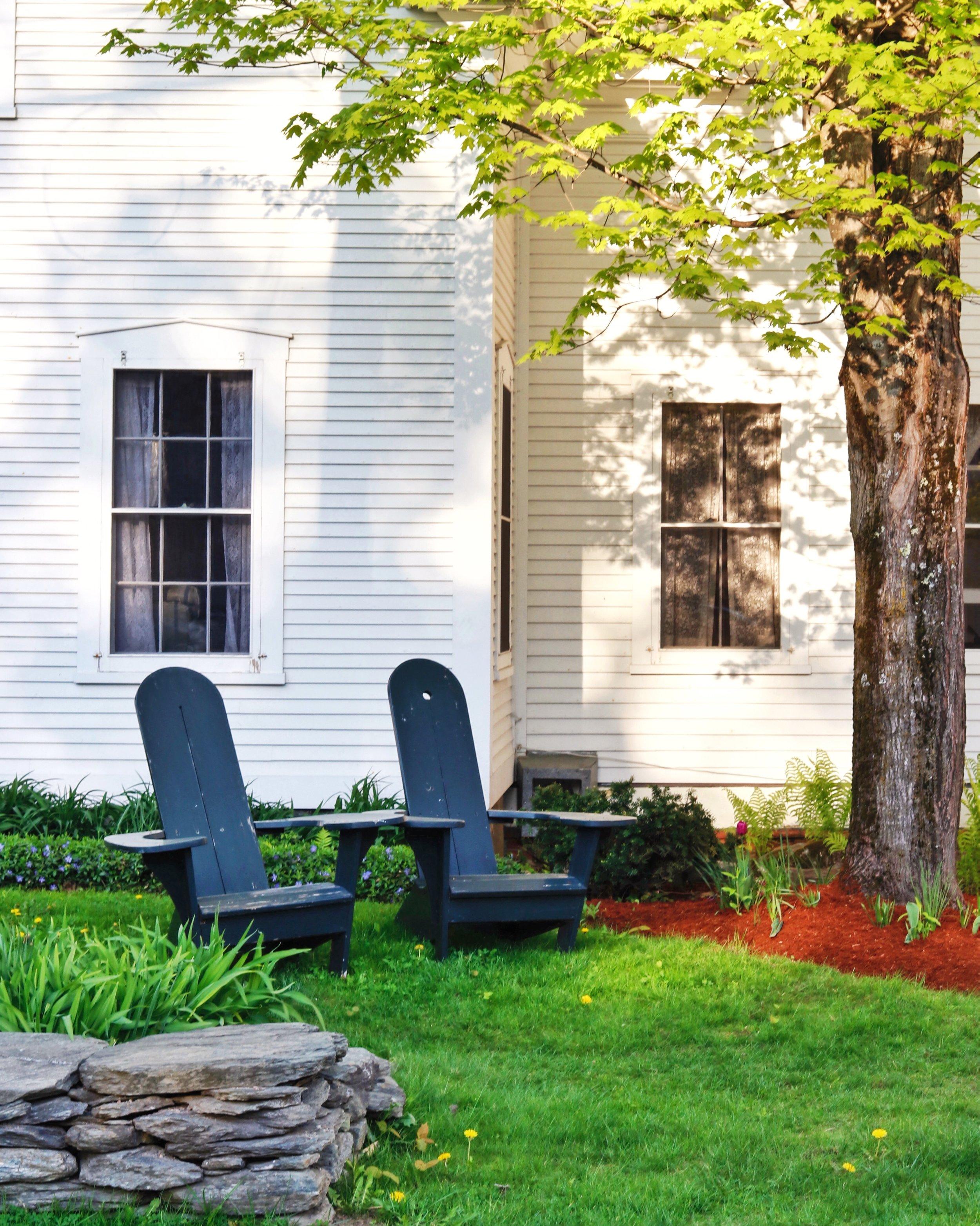 Pitcher Inn Adirondack Chairs