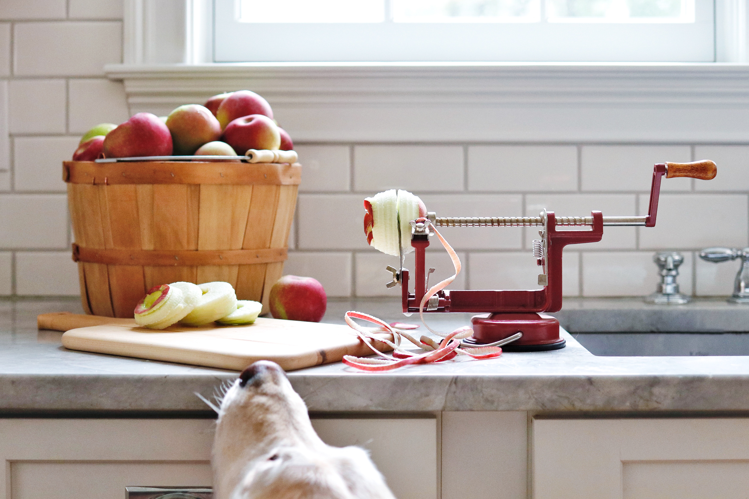 Apple Pie Apple Peeler