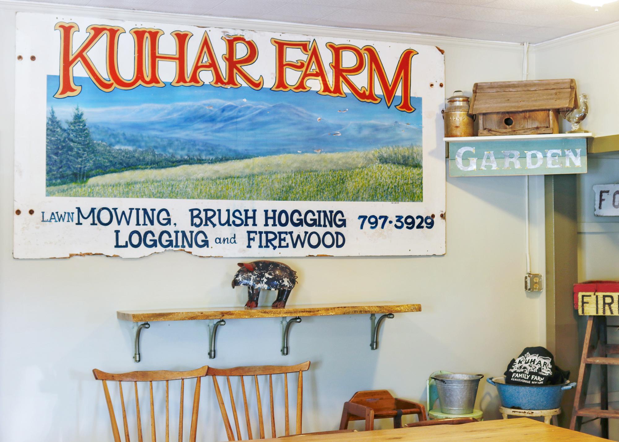 Kuhar Farm Cafe Rensselaerville NY