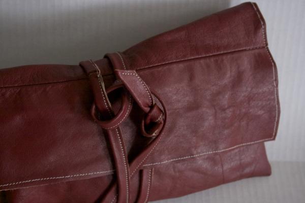 Red Wrap Clutch --- NestingDoll.