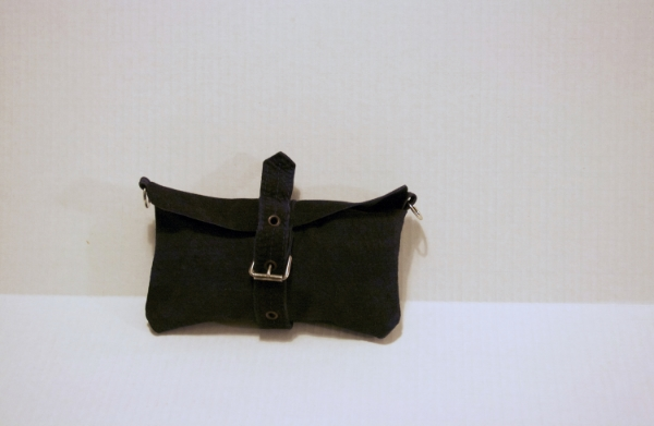 Navy Buckle Clutch - NestingDoll.