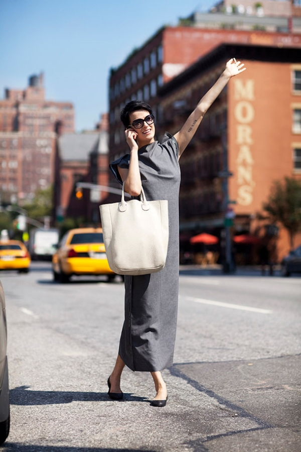 On the Street.....10th Ave., New York