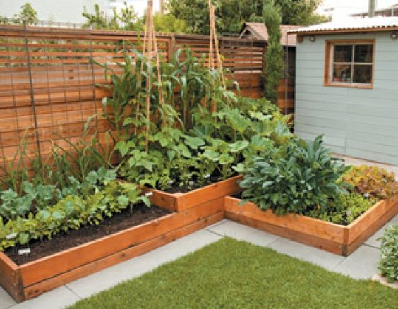 Stacking raised beds from  here.