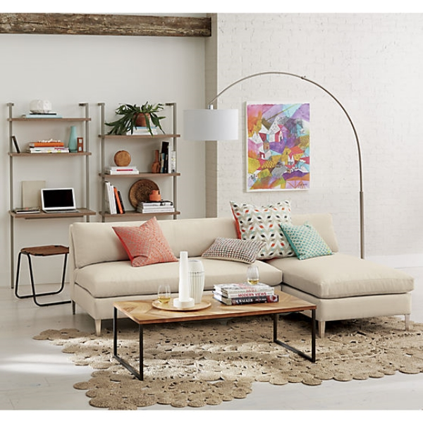 This cute rug/image is from  CB2 .