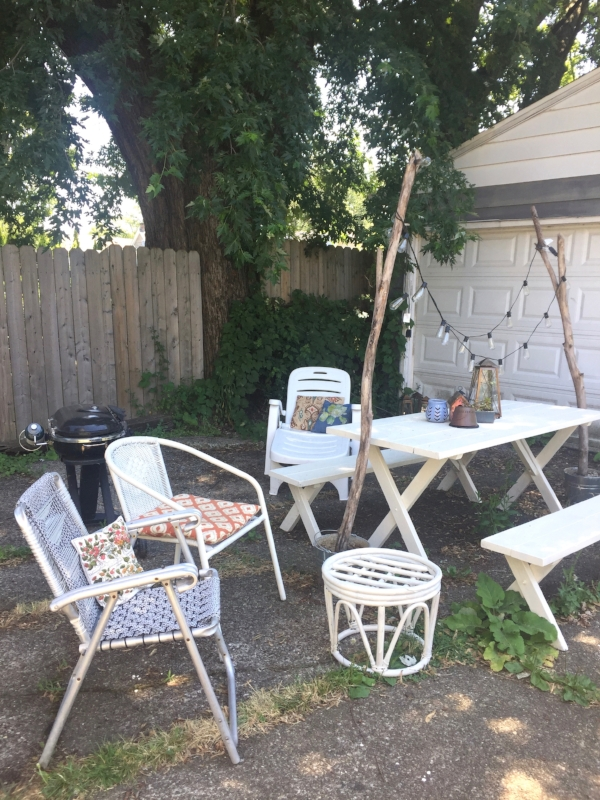 Aluminum Lawn Chair Make Over