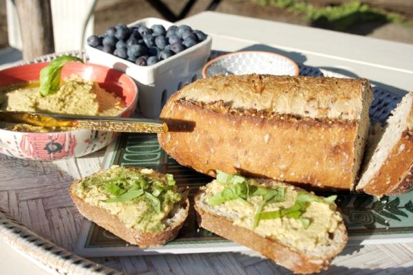 NestingDoll's perfect picnic Cashew 'Cheese'!