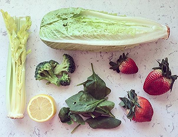green smoothie | leigh clair