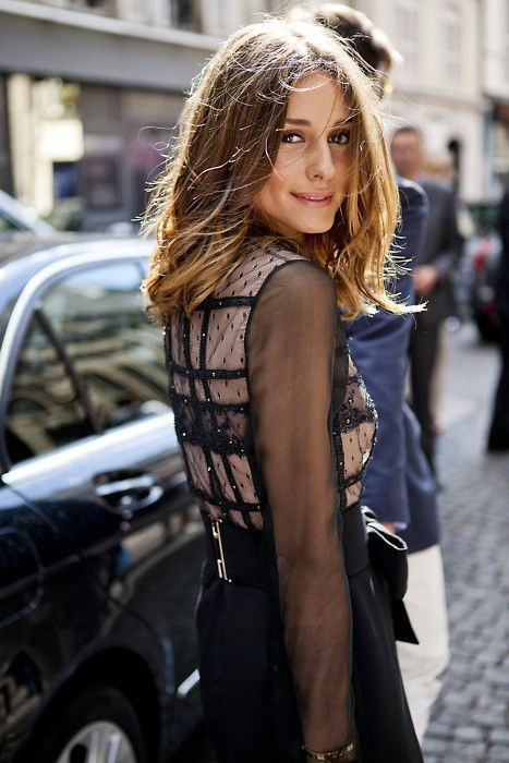 Olivia Palermo's Glossy Hair Secret
