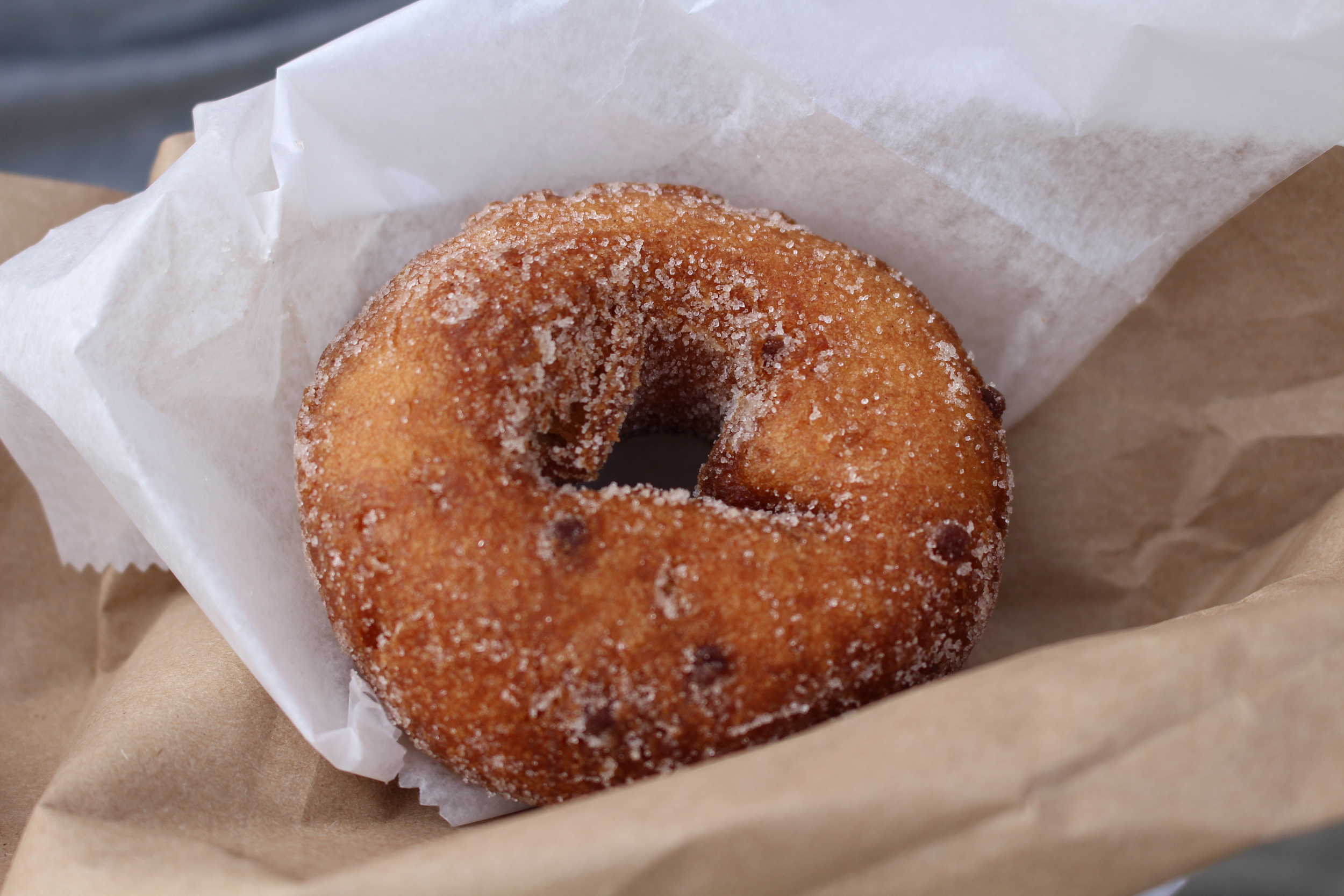 cider donuts at the orchard