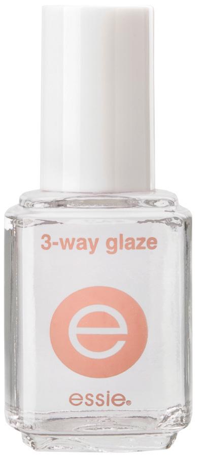 essie - 3 way glaze base and top coat