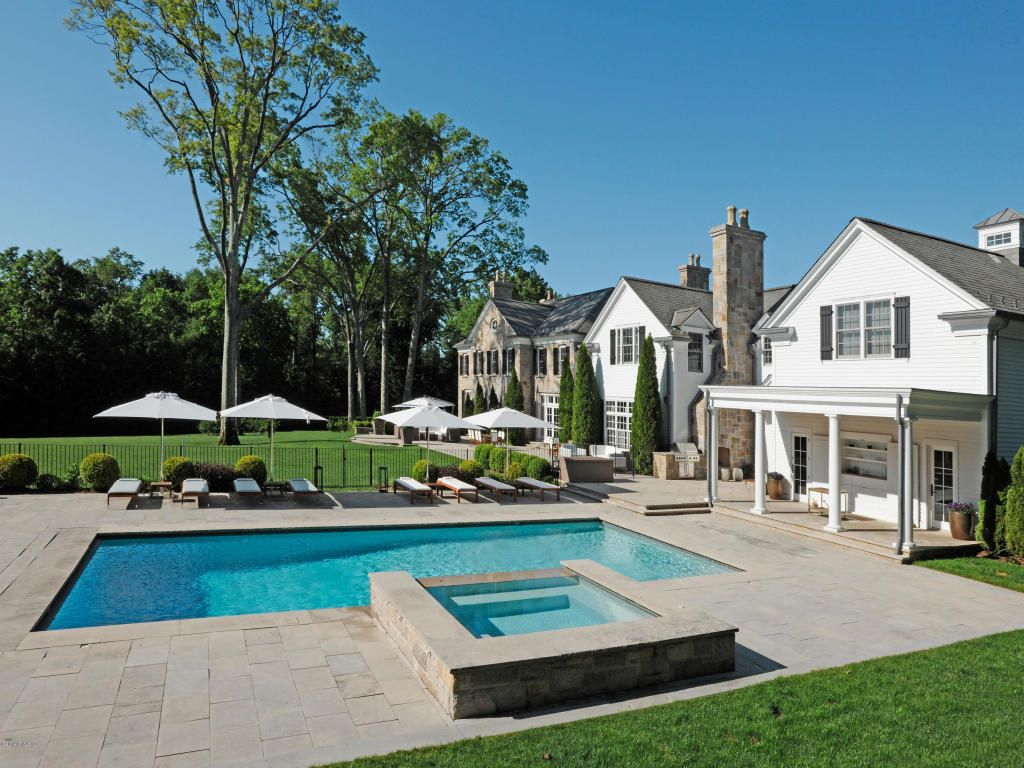 a beautiful estate with perfect outdoor space