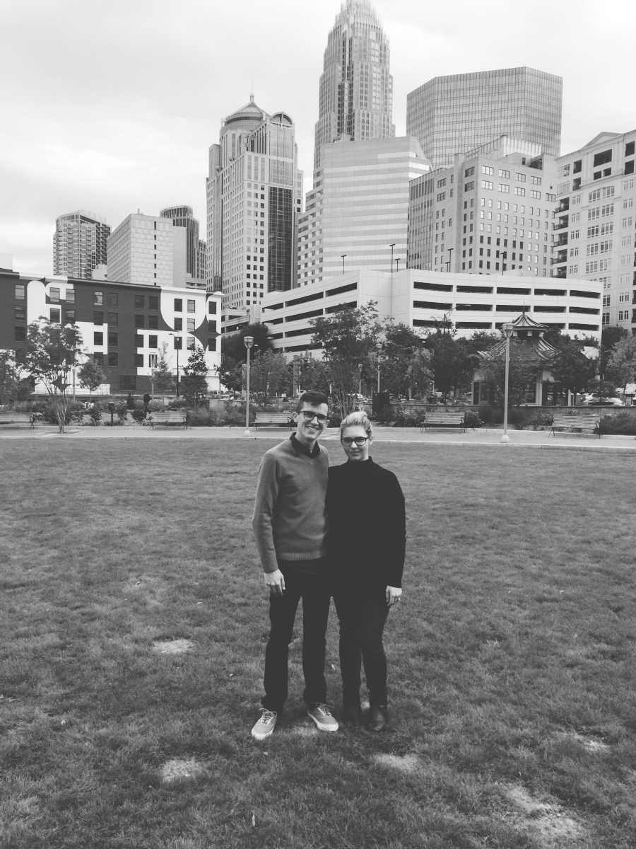 my love and i in our favorite city