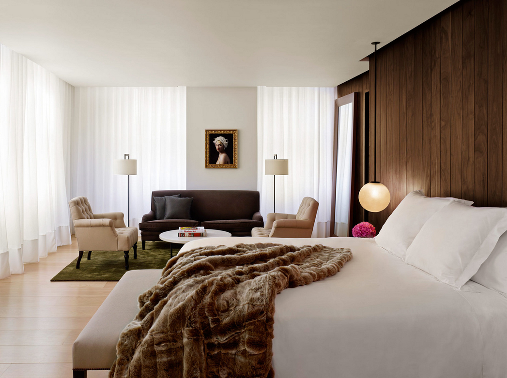 Edition Hotel in London. Loving everything about this dreamy bedroom escape.