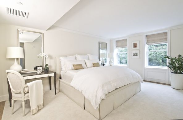 chic all white boston abode via leigh clair