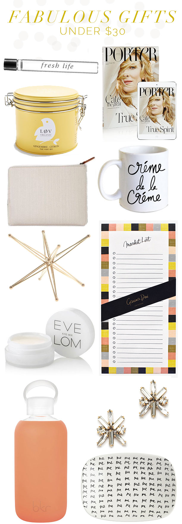 gifts under $30!