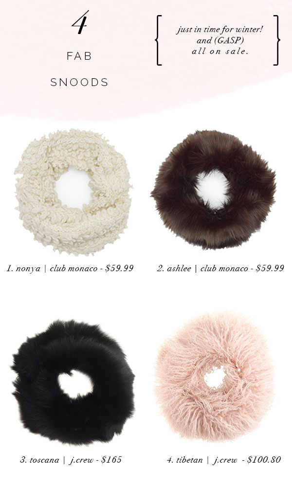 snoods for winter