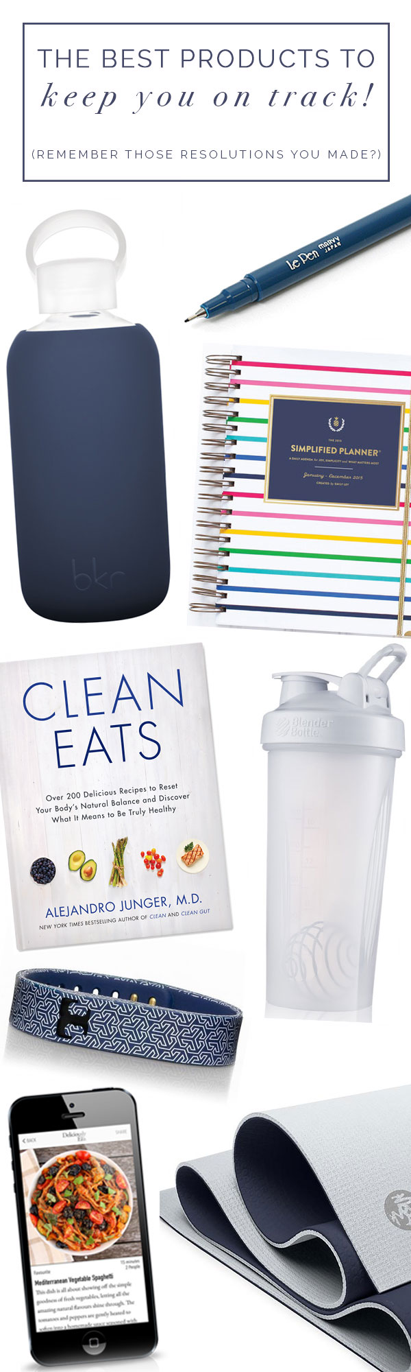tips and products to keep you on track