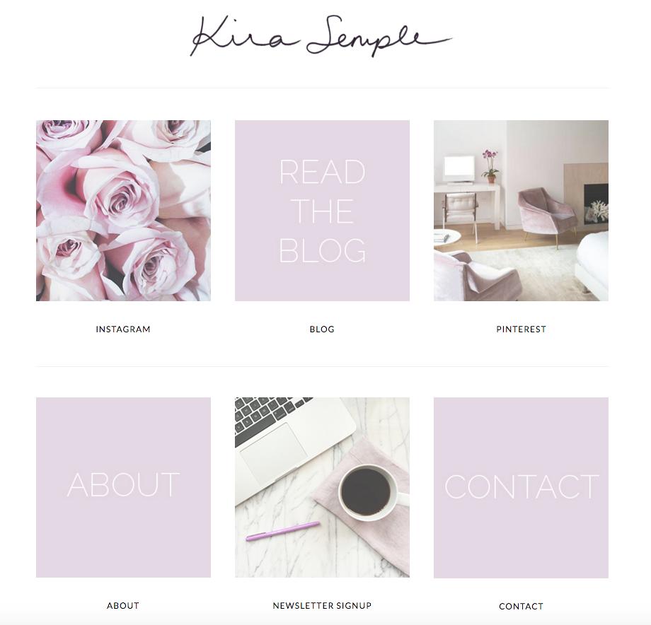 Kira Semple Homepage