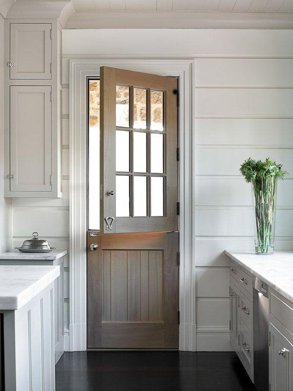 Dutch Door Love via KiraSemple.com   Melanie Turner Interiors