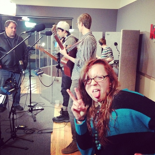 Friend of the band Alana Nabors joined along for some backup vocals.
